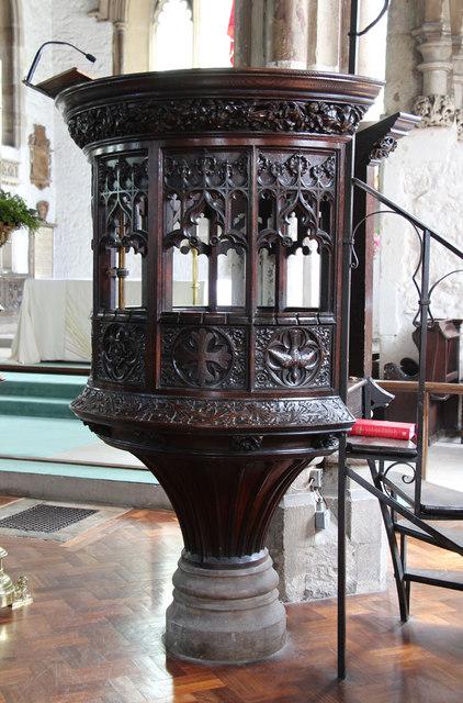 St Dunstan & All Saints, Stepney - Pulpit