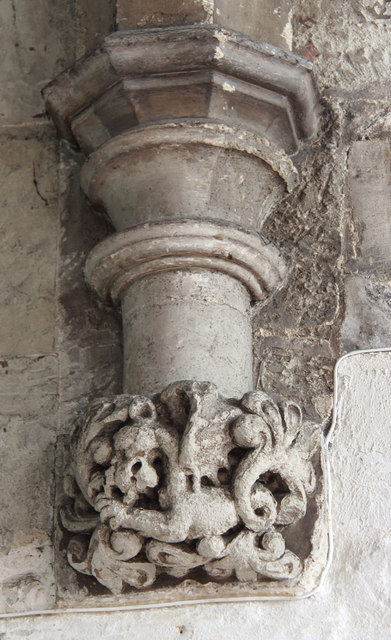 St Dunstan & All Saints, Stepney - Corbel