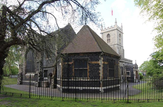 St Dunstan & All Saints, Stepney