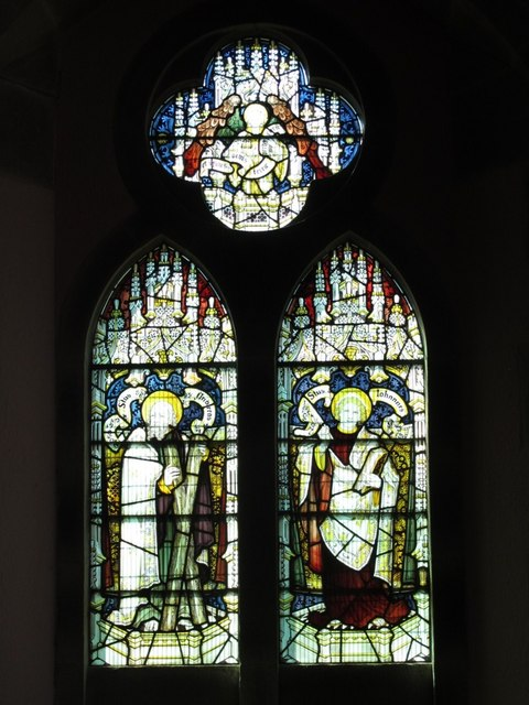 St. James's Church, Hunstanworth - stained glass window (3)