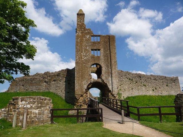 Sherborne: southwest gatehouse of the Old Castle