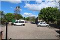 NT9338 : Heatherslaw Car Park by Billy McCrorie