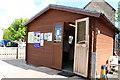 NT9338 : Heatherslaw Light Railway Ticket Office by Billy McCrorie