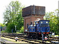 TQ4023 : Railway Engine and Water Tower at Sheffield Park by PAUL FARMER