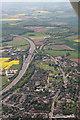 SU7496 : Stokenchurch to Stokenchurch radio mast: aerial by Chris