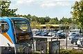 SJ9291 : Bus at Bredbury Morrisons by Gerald England