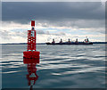 J4686 : Helen's Bay Buoy, Belfast Lough by Rossographer