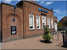 SO4382 : Barclays Bank, Craven Arms by Richard Law