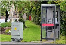 J1055 : Telephone box, Waringstown by Albert Bridge
