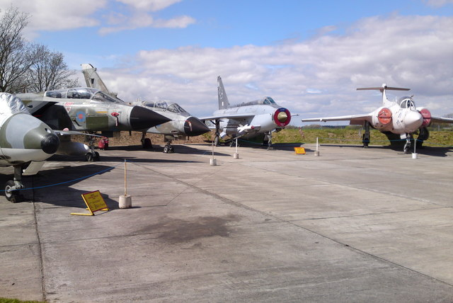 Fighters on display