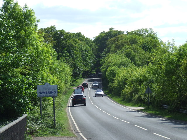 Chequers Road near Harold Hill