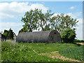 TL7123 : Two Nissen huts, Pound Farm by Robin Webster