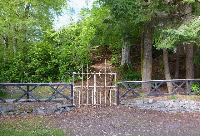 Gate to Cnoc an Taigh Mhòir