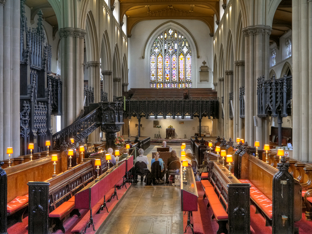 Leeds Minster (interior)
