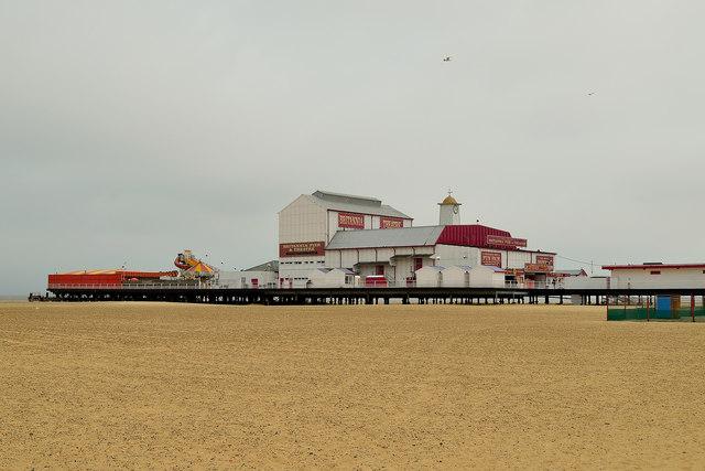 Britannia Pier, Great Yarmouth, Norfolk, England