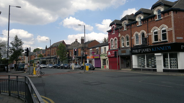 Didsbury village, Manchester
