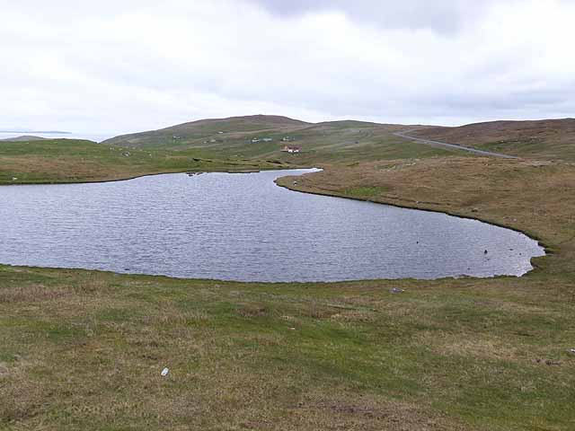 Loch below Hill of Orbister