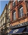 SX9163 : Pizza Express, Upholsterers, Torquay by Derek Harper