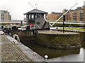 SE3032 : Aire and Calder Navigation, Leeds Lock by David Dixon
