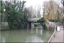 TL3808 : Dobb's Weir Road Bridge by N Chadwick