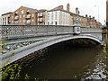 SE3033 : River Aire, Leeds Bridge by David Dixon
