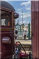 SU9698 : Watching and Waiting - Steam on the Met, Amersham, Buckinghamshire by Christine Matthews