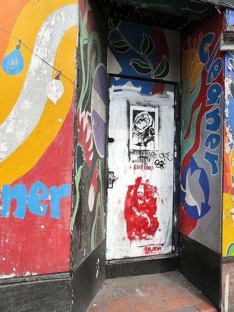Artwork on Wellington Street South