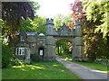 SP9591 : The Porter's lodge at Deene Park by Richard Humphrey