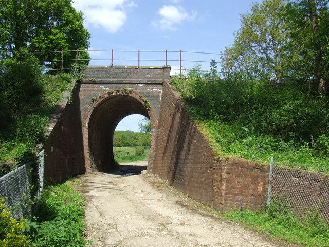 Railway bridge near Plumpton