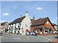 TQ3215 : Ditchling Post Office and The Bull pub by Malc McDonald