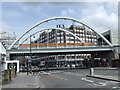 TQ3382 : Railway bridge, Shoreditch High Street by Malc McDonald