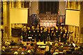 SP9211 : A Choir sings in the Parish Church during Tring Carnival by Chris Reynolds