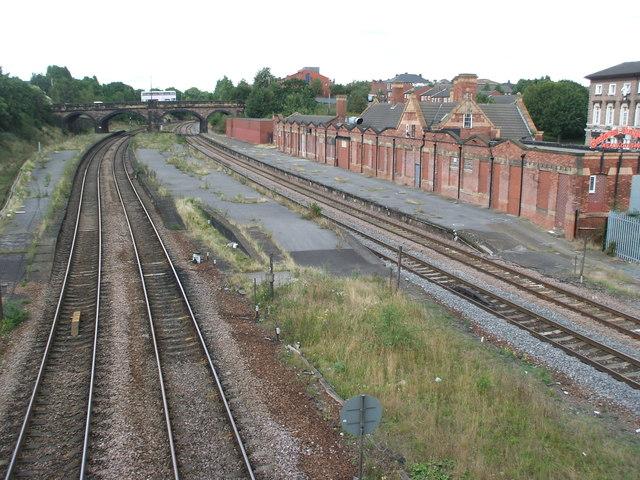Rotherham Masborough railway station (site)