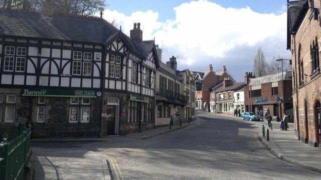 Lymm village centre
