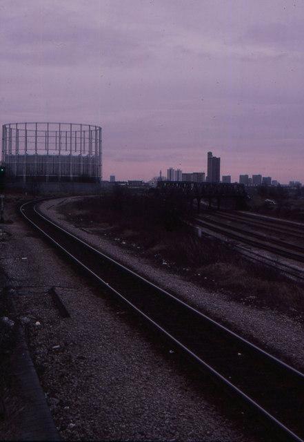 Railway flyover, North Kensington