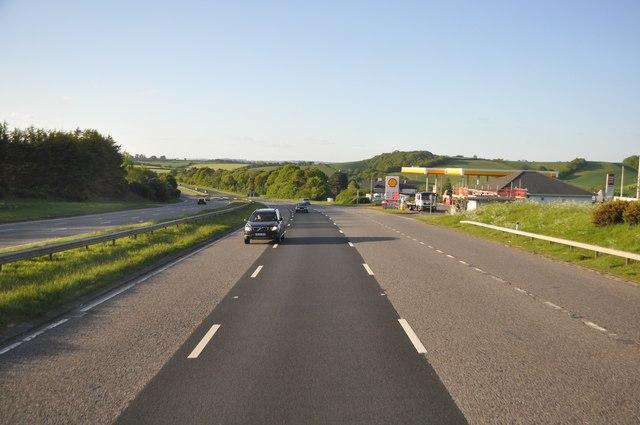 Teignbridge : A38 Road