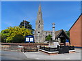TL0967 : St. Andrew's church Kimbolton by Bikeboy
