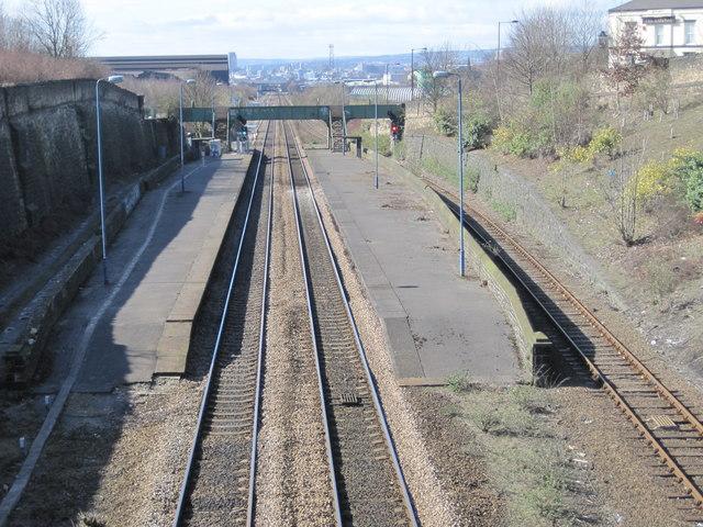 brightside railway station  site       u00a9 nigel thompson    geograph britain and ireland
