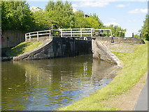 SE2833 : Spring Garden Lock, Leeds and Liverpool Canal by David Dixon