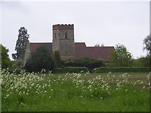TM1241 : St.Mary the Virgin Church, Belstead by Adrian Cable
