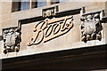 TL4558 : Boots sign by Philip Halling