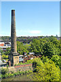 SE2734 : Armley Mills Chimney by David Dixon