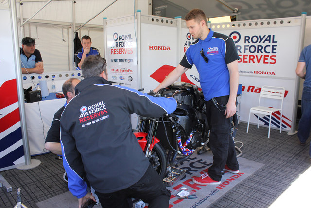 Tourist Trophy, Royal Air Force reserves
