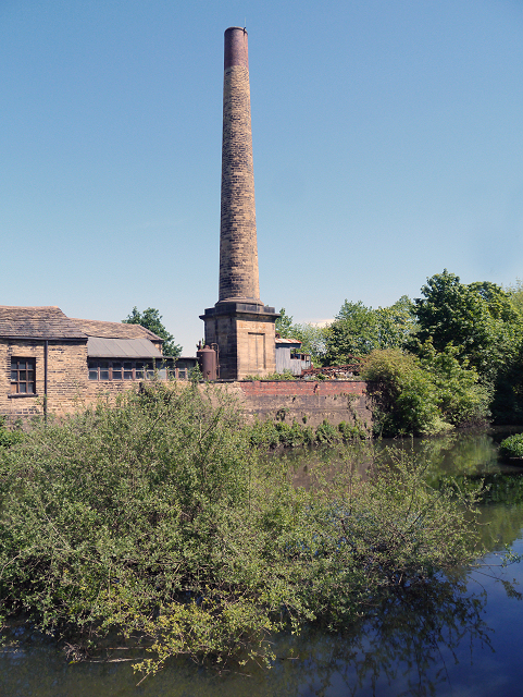 Goit and Chimney, Armley Mills
