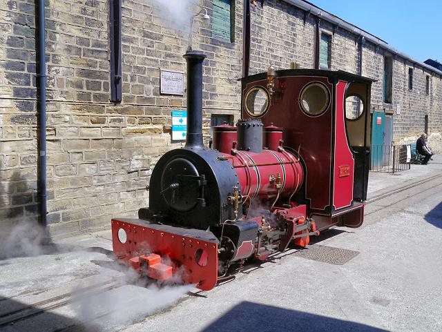 "Steam Locomotive ""Jack"" at Armley Mills"
