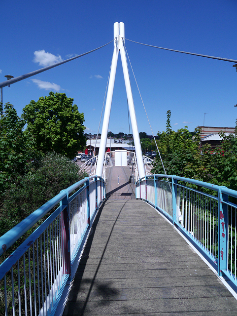 Bridge Over the River Aire at Armley Mills