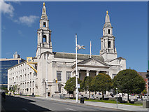 SE2934 : The Civic Hall, Leeds by David Dixon