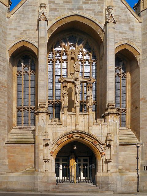 Leeds Cathedral, West Door