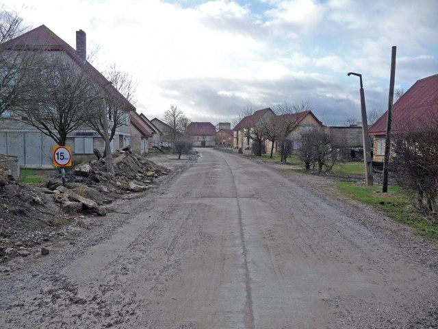 Copehill Down - Training Village