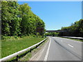SX5057 : The A38 eastbound at Eggbuckland Road Bridge by Ian S